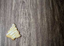 Christmas Tree Sugar Cookie royalty free stock photography