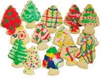 Christmas Tree Sugar cookies Royalty Free Stock Photo