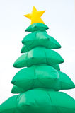 Christmas tree symbol Royalty Free Stock Image