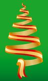 Christmas tree symbol 3 Royalty Free Stock Images