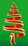 Christmas tree symbol 4 Royalty Free Stock Photography
