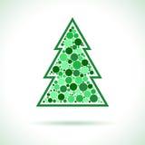 Christmas Tree symbol Stock Images
