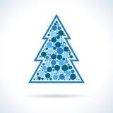 Christmas Tree symbol Royalty Free Stock Photo