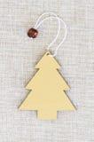 Christmas tree template stock image