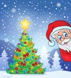Christmas tree theme 7 Royalty Free Stock Photos