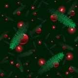 Christmas tree tile background Royalty Free Stock Photos