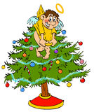 Christmas Tree Topper Angel Royalty Free Stock Photos