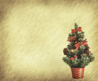 Christmas tree and toy Royalty Free Stock Photo