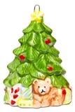 Christmas tree toy Stock Photos