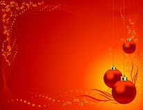 Christmas tree toy background Stock Images