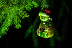 Christmas tree toy bear Royalty Free Stock Photos
