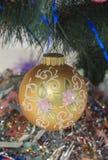Christmas tree toy Stock Image