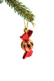 Christmas tree toy candy Stock Photo