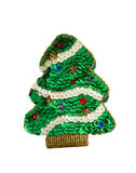 Christmas tree toy. Hand-made souvenir Stock Photography