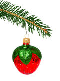 Christmas tree and toy Stock Image