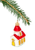 Christmas tree and toy Royalty Free Stock Image