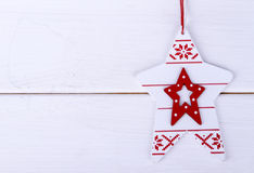 Christmas-tree toy Stock Images