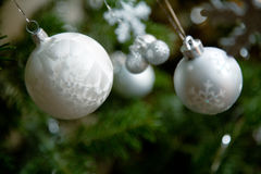 Christmas tree toys Stock Images