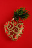 Christmas tree toys. Of the holiday decor Royalty Free Stock Images