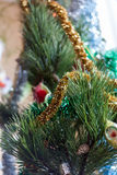 Christmas tree toys Royalty Free Stock Photos