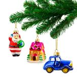 Christmas tree and toys Royalty Free Stock Photography