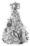 Christmas tree of toys Royalty Free Stock Image