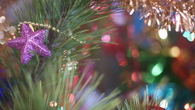 Christmas Tree with Toys stock video