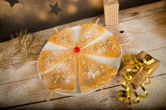 Christmas tree treat Stock Image