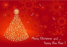 Christmas tree. vector 10eps. Stock Photography