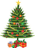 Christmas tree vector Royalty Free Stock Photography