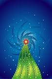 Christmas tree,vector  Royalty Free Stock Photos