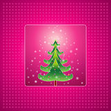 Christmas tree,vector  Royalty Free Stock Photos