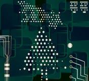 Christmas tree, vector Stock Photography