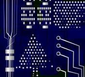 Christmas tree, vector Stock Image