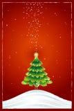 Christmas tree,vector Stock Image