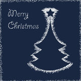 Christmas Tree Vector Stock Photo