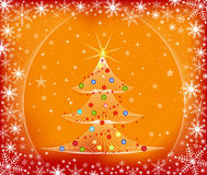 Christmas tree - vector Stock Photo