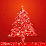 Christmas tree, vector Stock Photo