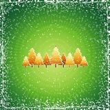 Christmas tree, vector Royalty Free Stock Photo