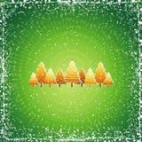 Christmas tree, vector Royalty Free Stock Photo