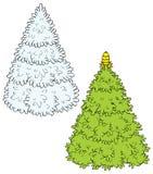 Christmas Tree (vector) Stock Photos