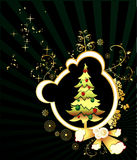 Christmas tree vector Royalty Free Stock Photos