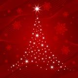 Christmas tree vector Royalty Free Stock Image