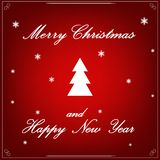 Christmas tree vector - art stock decoration beauty royalty free stock images