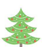 Christmas tree vector Stock Photos
