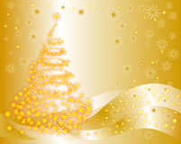 Christmas tree. Vector illustration royalty free stock images