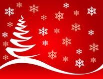 Christmas tree vector illustration Royalty Free Stock Image