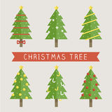Christmas Tree. This is vector image for Christmas celebration Royalty Free Stock Photography