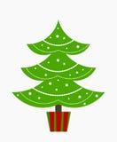 Christmas tree vector Stock Image