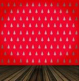 Christmas tree wallpaper Royalty Free Stock Image